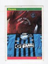 figurina card - CALCIATORI CARD SCORE 1993  - numero 428 PIACENZA PISA