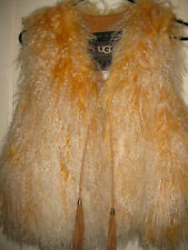 GORGEOUS UGG Marin Fur Vest (Natural) Women's Size XS/S NEW WITH TAG