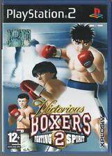 VICTORIOUS BOXERS 2 FIGHTING SPIRIT playstation 2 ps2