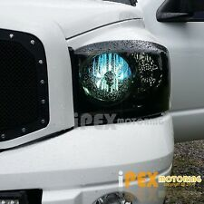 Limited (BlackOut) 2006 2007 2008 Dodge Ram 1500/2500/3500 Smoked Headlights