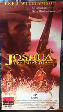 Joshua: The Black Rider (VHS) Rare 1976 western stars Fred Williamson