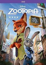 ZOOTOPIA - DVD NEW 2016 Anime, Kids, Family, Comedy SHIPS FAST ! BRAND NEW