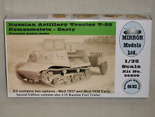 Mirror Models Ltd. 1/35 Russian Artillery Tractor T-20 Komsomolets - Early