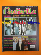 rivista ROCKERILLA 236/2000 Broadcast Moloko Tosca Cotton Mather Echoboy NO cd