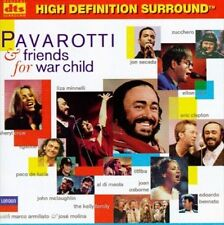 Pavarotti & Friends for War Child DTS CD -- NEW CD Clapton John Zucchero Crow