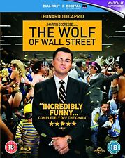 THE WOLF OF WALL STREET di Scorsese BLURAY Originale Inglese NEW PRENOTAZ.