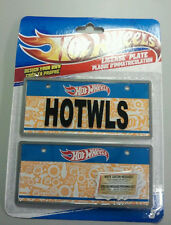Boys - Hot Wheels License Plates 1 Packs 2 Plates Make your own