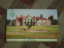Dow Finsterwald 1977 Ryder Cup  Signed Royal Lytham And St Annes Scorecard
