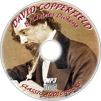 DAVID COPPERFIELD Charles Dickens Classic Audio book MP3 CD NEW UNABRIDGED NOVEL