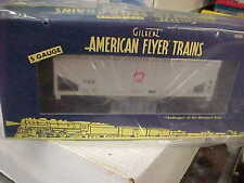 AMERICAN FLYER,,,,# 47963,,,PRR 2 BAY COVERED HOPPER