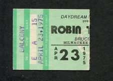 1975 Robin Trower Status Quo Concert Ticket Stub Milwaukee For Earth Below