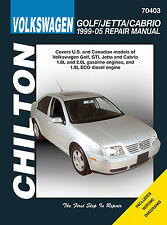 Chilton 70403 Service/Shop/Repair Manual Golf / GTI / Jetta / 1999-2005