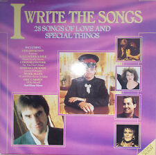 2LP I write the Songs 28 Songs of Love and spezial Things,Vinyl VG++ UK Press