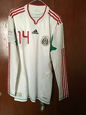 Mexico jersey match worn tech fit, no formotion, #14/10000 Chicharito Tri