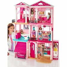 New Mattel Barbie Dream House Doll Furniture Girls Play ~ 3 Story