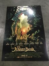 Disney The Jungle Book Movie WonderCon 2016 Limited Poster SDCC