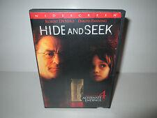 Hide and Seek (DVD, 2005, Widescreen) Robert DeNiro, Dakota Fanning (Region 1)