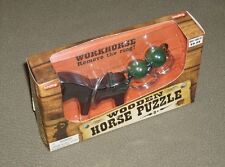 Schylling wooden quality mind bender Workhorse skill puzzle amusement game 8+