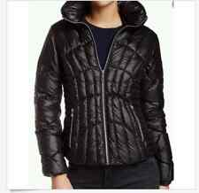 Guess Quilted Down Puffer Winter Jacket Coat Women's size M Black