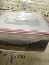 NWT FARBERWARE  4 POINT LOCK SEALED BIODEGRADABLE PLASTIC CONTAINER MADE IN USA