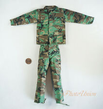Dragon 1/6 Figur USA Army Marine NATO Woodland Camo Combat Suit Uniform DA298