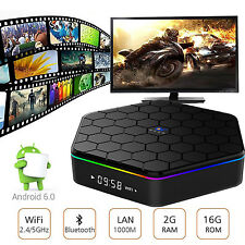 Orow Android 6.0 Smart TV BOX KODI 4K Dual WIFI Octa core 2G/16GB Media Player