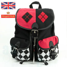 Cosplay Harley Quinn Suicide Squad Comics Knapsack Backpack School Bag Xmas Gift