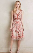 ANTHROPOLOGIE by MOULINETTE SOEURS Alicante Dress Sz 2 -New