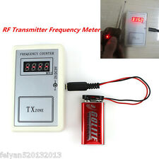 Autos Car RF Frequency Detector Tester Counter Gauge Checker Key Remote Fix RF