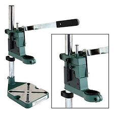 PLUNGE POWER DRILL PRESS STAND with DEPTH GAUGE BENCH PILLAR PEDESTAL CLAMP