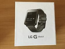 "BOXED LG G WATCH BLACK SMARTWATCH W100 ANDROID 4.3 1.65"" DISPLAY"