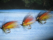 3 Vainer's Ultimate Temple Dog Willie Gunn Size 9 Salar Double Salmon V Flies