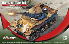 M5 LIGHT TANK - OPERATION TORCH (U.S. MKGS/ STUART/HONEY) 1/72 MIRAGE