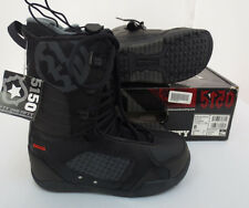 SQUADRON BLACK SNOWBOARDING BOOTS SIZE 8 FIFTY ONE FIFTY 5150 SNOWBOARD SNOW NEW