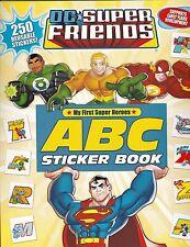 DC súper amigos: ABC libro de pegatinas: actividad ABC Libro de Pegatinas - 250+ Pegatinas