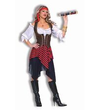 Sweet Buccaneer Beauty Caribbean Pirate Wench Adult Costume, One Size