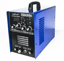 IGBT INVERTER AC DC TIG MMA Aluminum Welder TSE200G New Generation Of WSME