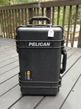 Pelican 1510 Case w/ Foam Inserts ~ FAA Approved Waterproof Rolling Carry-on {C}