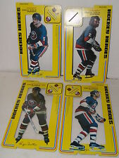 1975 Cardboard Stand up Hockey Heroes -New York Islanders-Lot of 4-1 is sealed