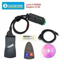 Lexia 3  PP2000 V48 V25  for Citroen/Peugeot Diagnostic tool with Diagbox V7.82