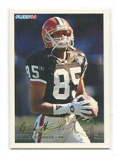 1994 Fleer Rookie Exchange #1 Derrick Alexander Cleveland Browns
