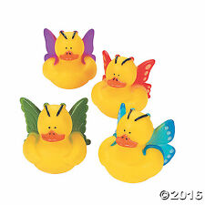 """Butterfly Rubber Duckies  12 Pack 2"""""""