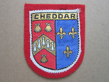 Cheddar Woven Cloth Patch Badge