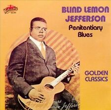 Penitentiary Blues: Golden Classics by Blind Lemon Jefferson (Cassette, Sep-2...