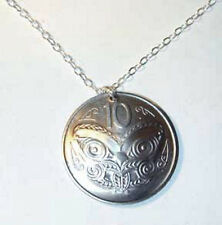 Coin Jewelry~Maori Mask coin necklace