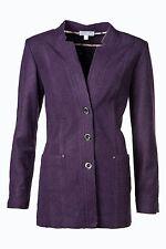 Damenjacke 38 Blazer Damenblazer Wollblazer Jacke apart Violett 880059 702B