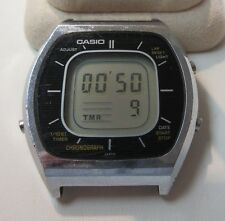 Vintage CASIO CASIOTRON 56QS-38 DIGITAL WRIST WATCH WORKING