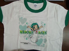 NEW ANIME MIDORI DAYS MED LADIES CUT ADULT T-SHIRT