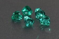 A Single 3mm Heart Cut Genuine Green Emerald !!!