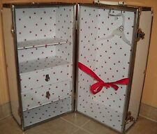 2005 Pleasant Valley American Girl Molly McIntyre Retired Case Wardrobe Trunk